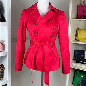 Fuchsia Trench Jacket